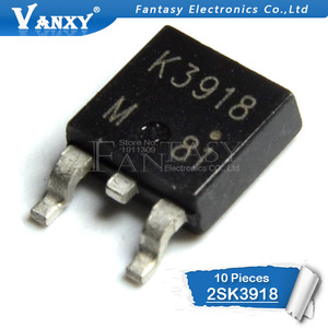 Image 2 - 10PCS 2SK3918 SOT252 K3918 SOT TO 252 MOSFET SMD new and original IC