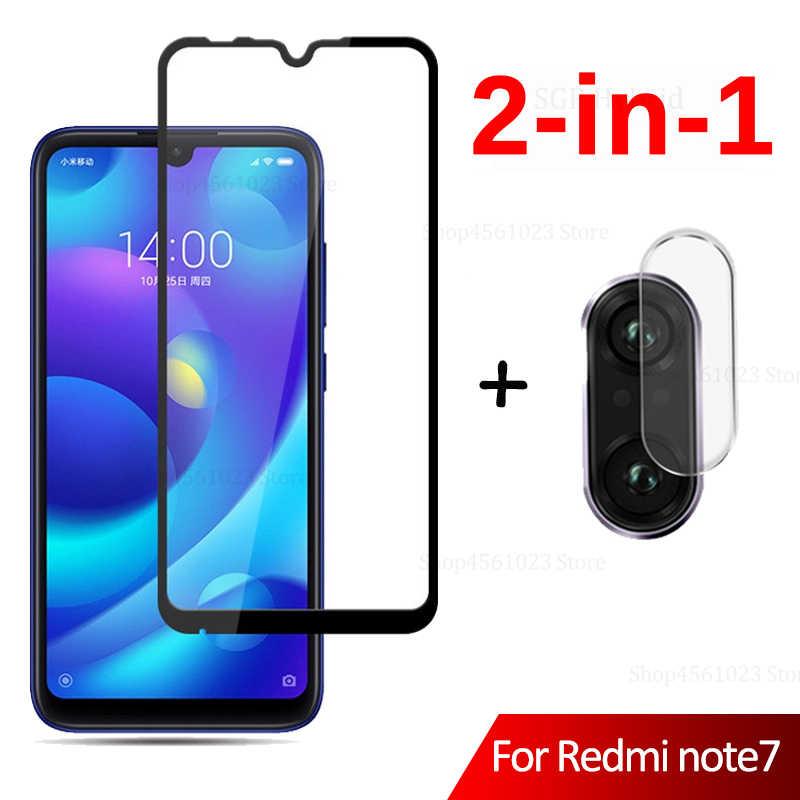 2in1 واقي للشاشة الزجاج على ل الأحمر mi Note7 ملاحظة 7 كاميرا عدسة فيلم ل شياو mi الأحمر mi ملاحظة 7 Note7 غطاء زجاج واقي