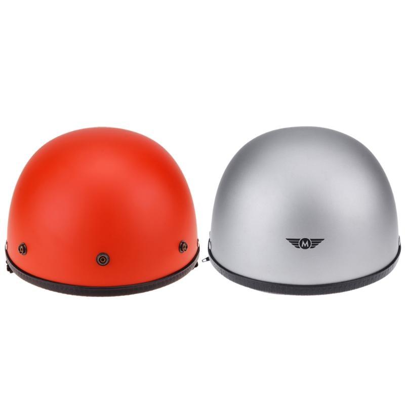 DOT Certificated Motorcycle Helmet L Size Scooter Moto Motocross Safety Protection Half Helmet Capacetes de Motociclista