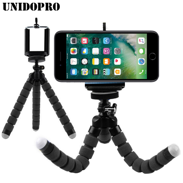 new arrival a80b3 5ce31 US $3.79 24% OFF|Flexible Octopus Tripod Head Bracket Phone Camera Holder  Stand Mount for iPhone X XR XS Max 8 7 6S Plus Galaxy S10 S10e S9 S8 S7-in  ...