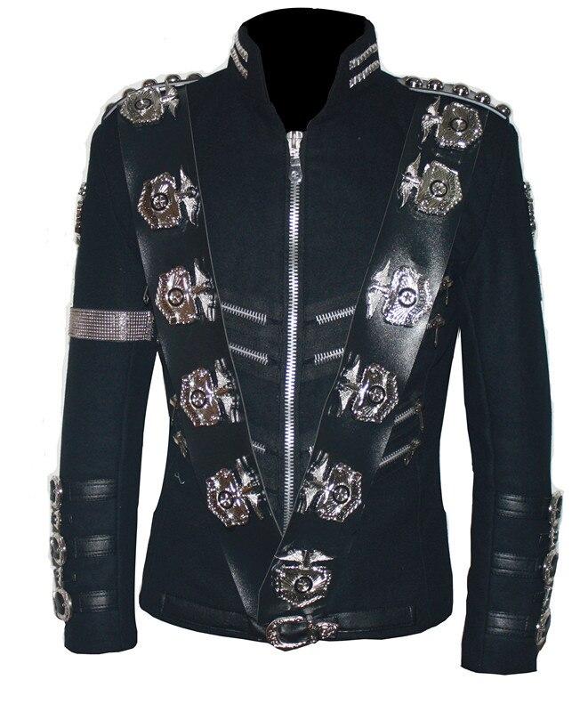 Aliexpress Com Buy Mj Michael Jackson Bad Jacket With