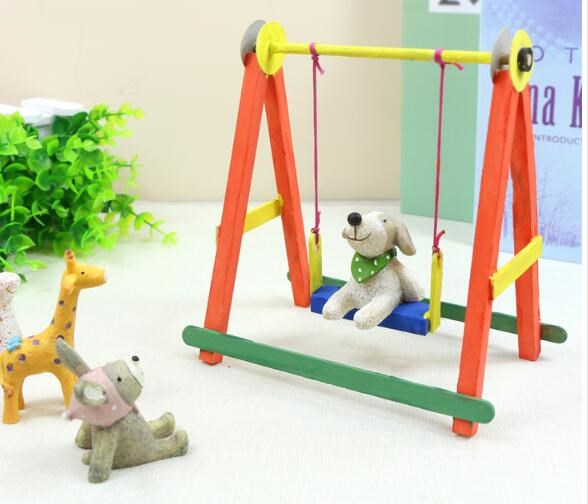 DIY Household Swing Children Toy Indoor Baby Seat Outdoor Infant Rocking Chair Sports Hanging Chairs Swing Toy Model Accessories