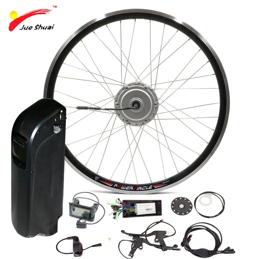 Ebike Батарея 48 В 250 Вт 350 Вт 500 Вт электрический комплект велосипед с SAMAUNG чайник Батарея спереди 26 мощный электрический колеса велосипеда