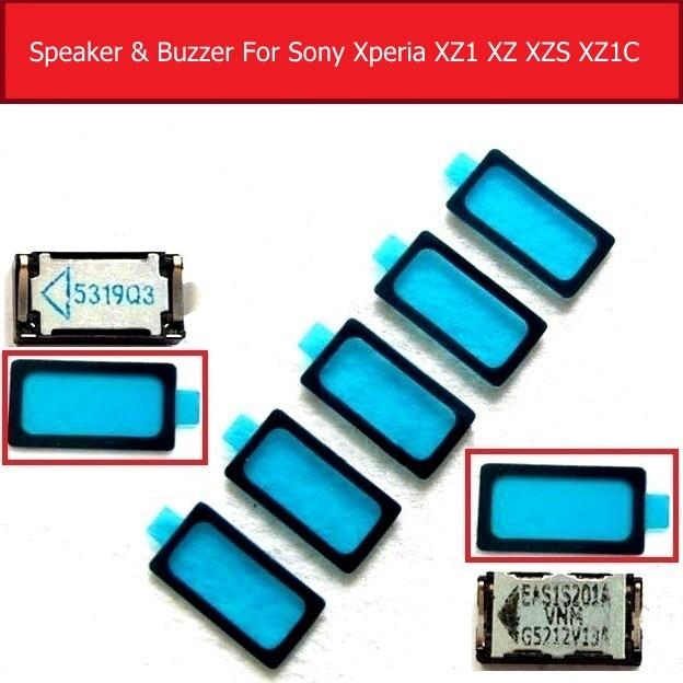 Earpiece &Louder Speaker For Sony Xperia X XZ1 Compact Speaker &Buzzer Ringer For Sony Xperia XZ XZS Water-proof Glue Of Speaker