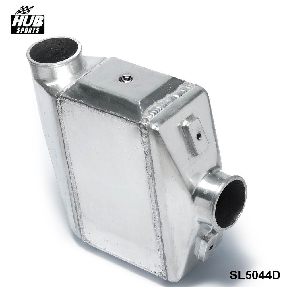 Hubsports - Turbo Water to Air Intercooler - 13.3x12X4.5 Inlet/Outlet: 3 Front Mount Aluminum Turbo Intercooler HU-SL5044D epman universal aluminum water to air turbo intercooler front mount 250 x 220 x 115mm inlet outlet 3 5 ep sl5046d