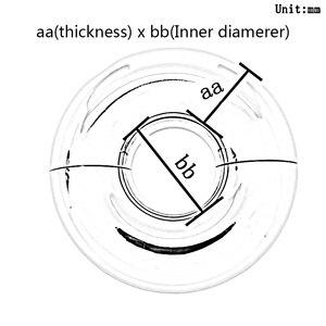 Image 4 - 5 mm a 15 mm di spessore piercing anelli anello segmento per il corpo genitale piercing dei monili del corpo anello piercing anello genitale anelli