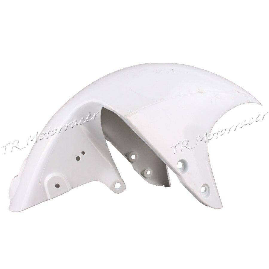 Белый некрашеный переднее крыло обтекатель для Suzuki GSX1300R Хаябуса GSXR1300 2008-2012 2013 2009 2010 2011 новый
