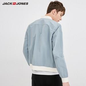 Image 3 - Jack Jones Mens Baseball Collar Jacket Bomber Jacket Short Coat 218321548