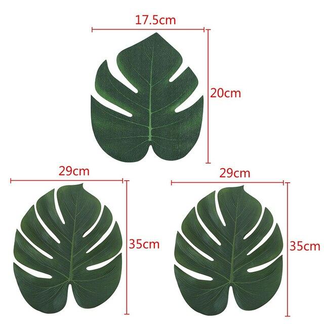 1 шт золотисто зеленые высококачественные искусственные листочки фотография