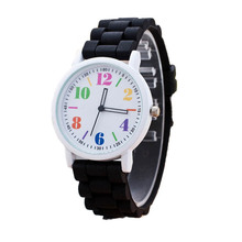 2017 Women Silicone watch Motion Quartz Watches Sports Wrist Watch montre femme Electronic watches for Women #YH