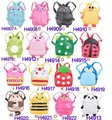 16 Styles Baby Toddler Kid Child Cartoon Animal Backpack Schoolbag Shoulder Bag, 30PCS/Lot Free Shipping
