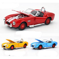 Simulação de alta Requintado Diecasts Toy Vehicles Carro Styling Forte 1965 Shelby Cobra 427 S/C 1:32 Alloy Diecast Monstros Modelo de carro