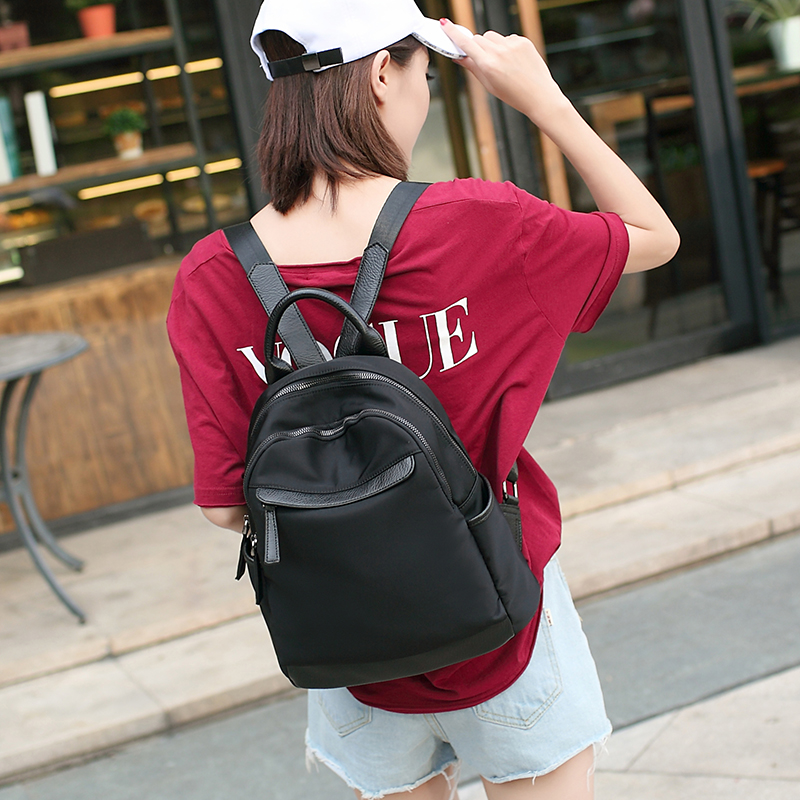 2018 Brand Fashion Women Backpack High Quality Oxford Shoulder Bags For Girls Casual Day Pack Large Capacity Travel Bag 3 color