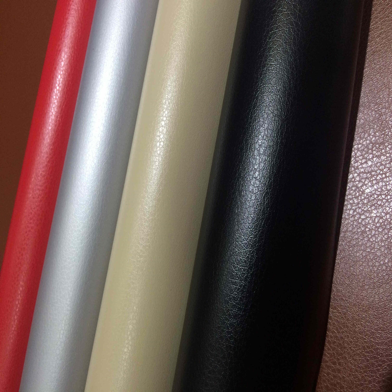 Black brown red wallpaper leather stickers car color film leather wallpaper furniture renovation leather stickers