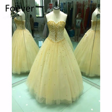FL&AEVVE Ball 2019 Long Rhinestone dress for Prom Dress