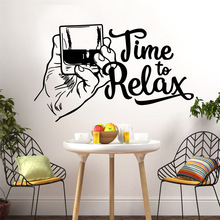 Beauty time to relax Home Decoration Accessories For Kids Rooms Nursery Room Decor Murals