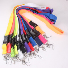 Colcorful Keychain Lanyard Neck Strap Key Ring For ID Pass Card Badge Gym Mobile Phone USB Holder Hang Rope