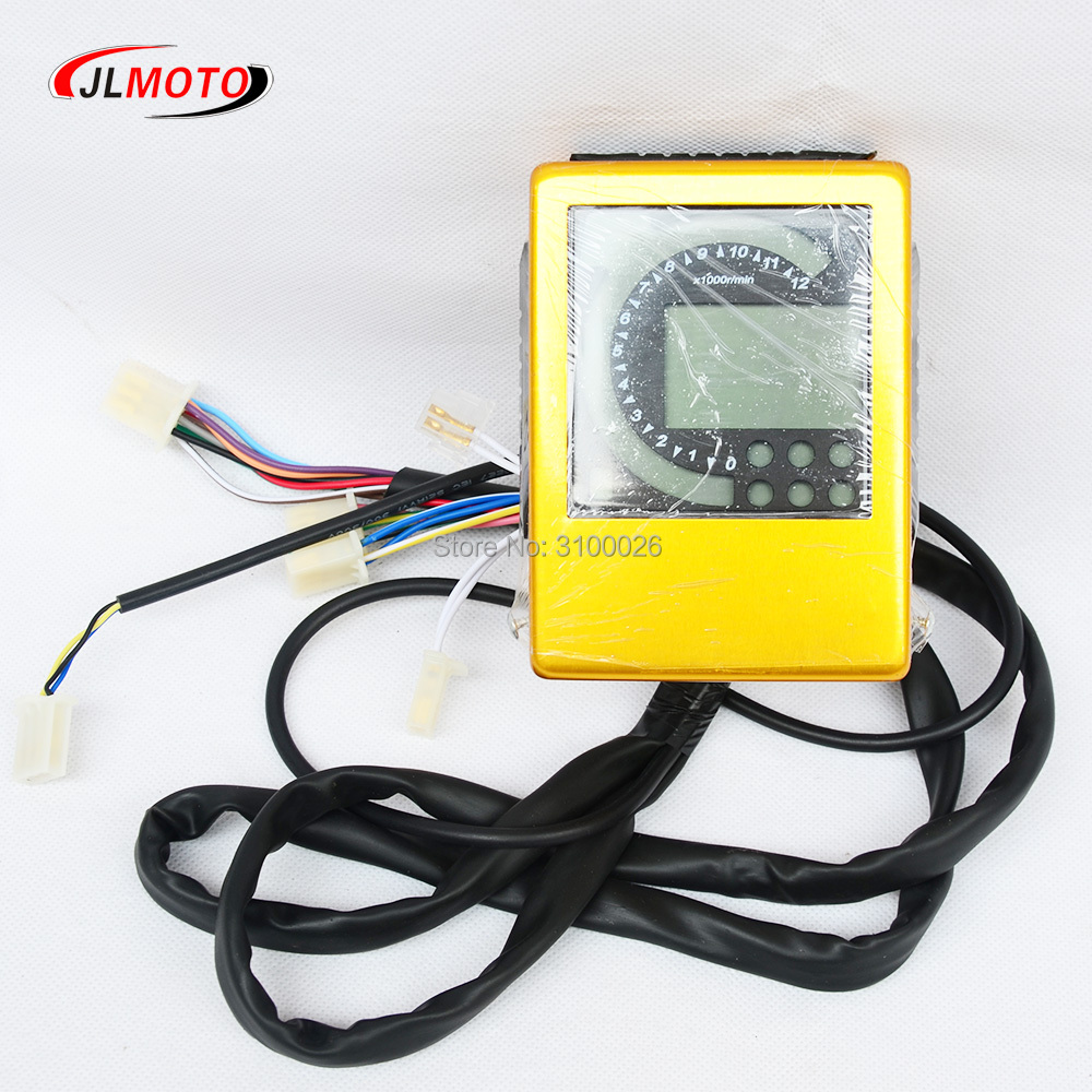 Speedometer Fit For Bashan EGL ATV Jinling 250cc 300cc parts EEC JLA-21B,JLA-931E,JLA-923 Quad Bike meter цена