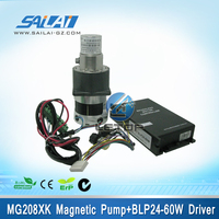 High quality!!stainless steel magnet motor with controller for color ceramic machine(type:MG208XK/DC24W)