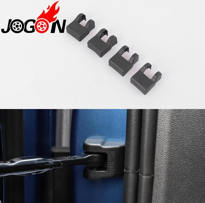 Аксессуары 4 шт. крышка замка двери фиксаторы уход за кожей лица маска ограничения Пряжка для VOLVO XC40 XC60 XC90 V90 стайлинга автомобилей