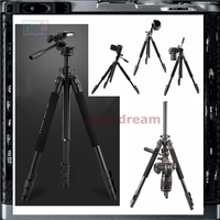 Weifeng Fancier 6663A Reflex Tripode Professional Tripod Soporte for Photo Camera FT 6663A WF 6663A PT013