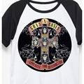 Guns N Roses Appetite para destrucción Aerosmith dream on rock moda vintage camiseta
