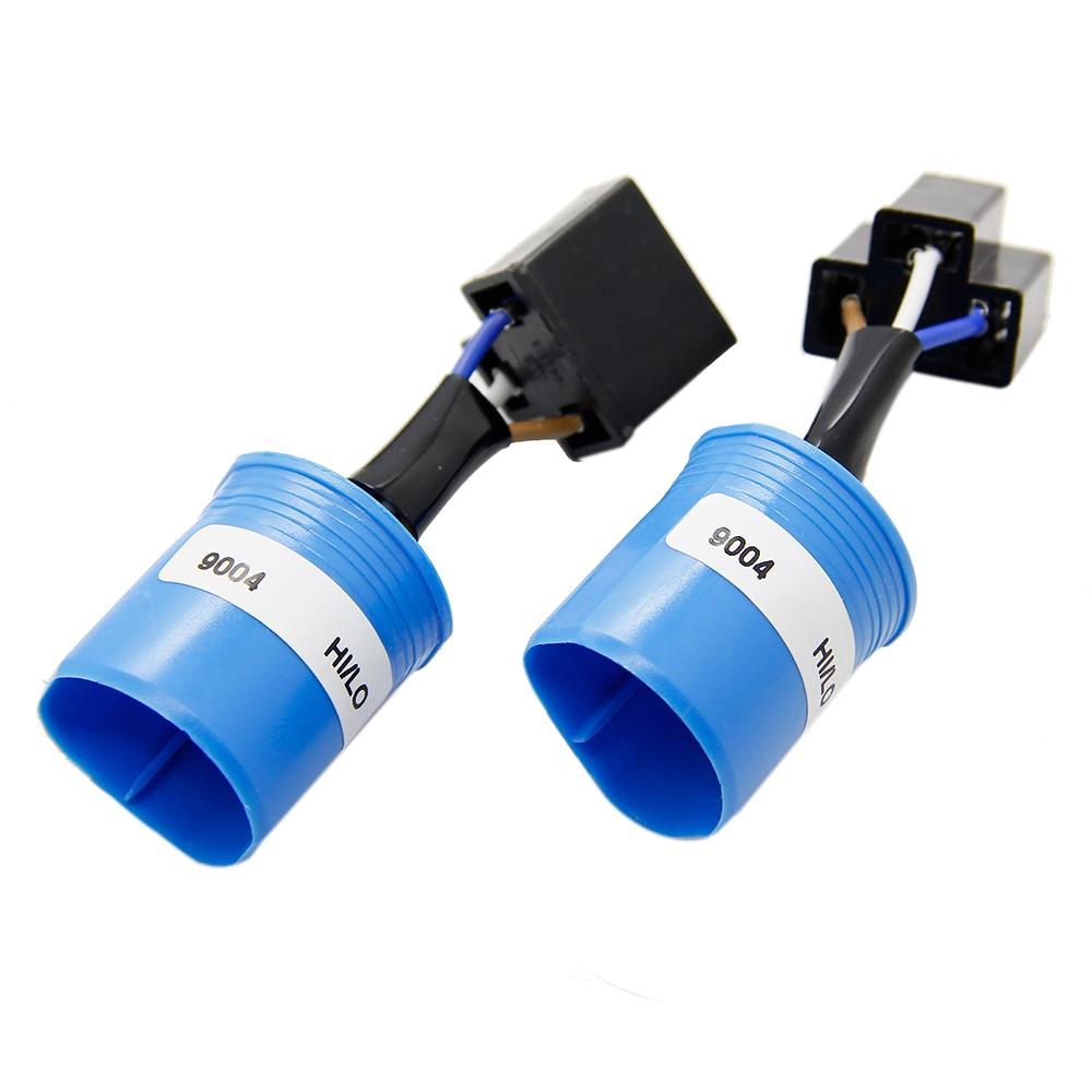 ZOYE LED Bombillas de Los Faros del coche 9004 Chips de Philips Haz Hi-lo 80 W 8