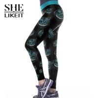 Klasyczna 3D Drukuj Aztec Ombre Legginsy Kobiety Przyczynowy Calzas Mujer Miękkie Legins Tayt Jeggings Sexy Leginsy Fitness Legging Dziewczyny