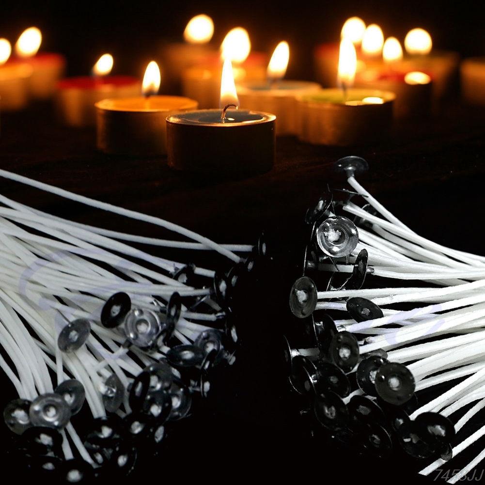 Brieftaschen Und Halter 100 Stücke 12 Cm 15 Cm Kerze Dochte Baumwolle Core Pre Gewachste Mit Sustainers Für Kerzenherstellung Drop Ship Rohstoffe Sind Ohne EinschräNkung VerfüGbar