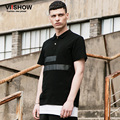 Viishow Polo Shirt Men Brand Clothing Black Turn Down Collor Summer Men's Polo Shirt Casual Business Slim Fit Polo Men  PD65962