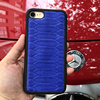 Genuine Leather Phone Cases For IPhone 5 6 S 7 Plus 3D Design Real Python Leather
