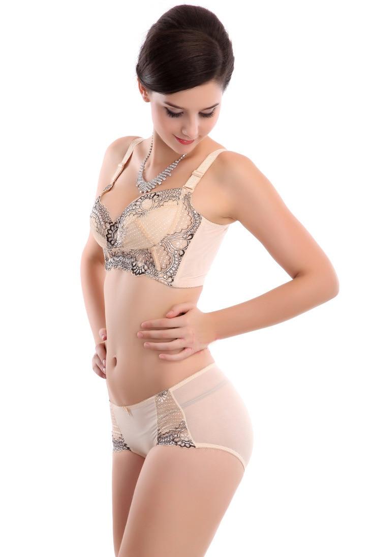 953e35cc28a5b cheap promotion Supply bra sets thin wireless pure cotton fancy bra  underwear sets minimizer adjustable bra set fashion lingerie-in Bra   Brief  Sets from ...