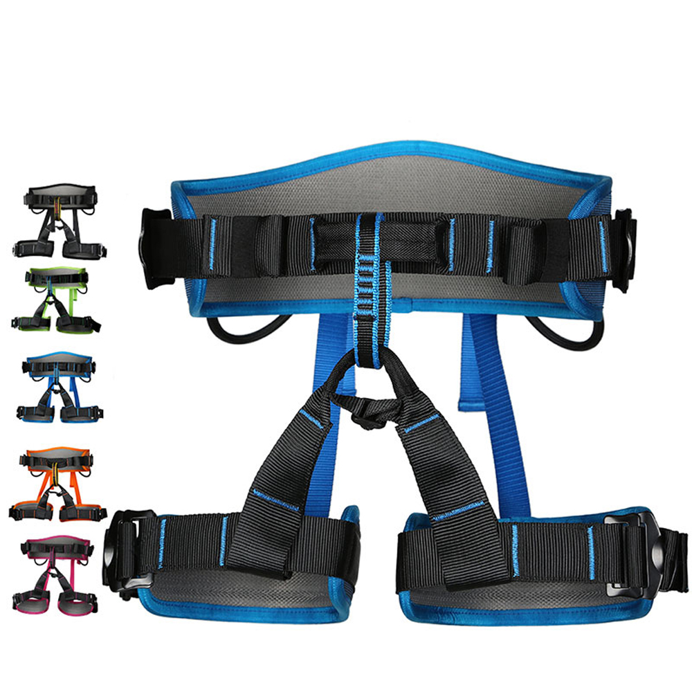 Image 2 - XINDA Camping Safety Belt Rock Climbing Outdoor Expand Training Half Body Harness Protective Supplies Survival Equipment-in Climbing Accessories from Sports & Entertainment