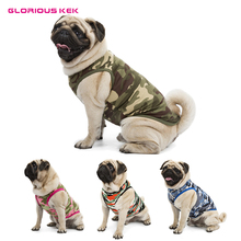 Dog T-Shirt in Camouflage Design made of Cotton