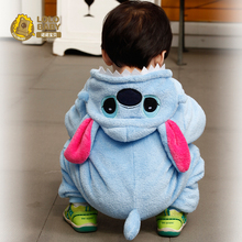 baby romper style flannel baby clothes autumn and winter rompers
