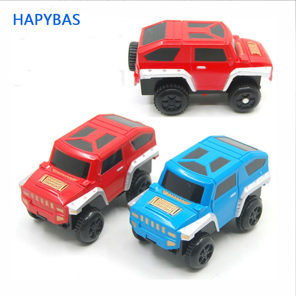 New Kids Toys Alloy Electric Car Battery Power Educational Toy For Orbit Track Toy Kids Gift