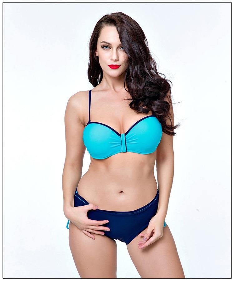 Hot Sale  Swimming Bikinis Set , Flat Chest Bikini Sexy -5550