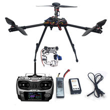 F10811-A JMT Assembled Full RFT Kit HMF Y600 Tricopter 3 Axle Drone Copter with APM2.8 GPS Gimbal Aircraft