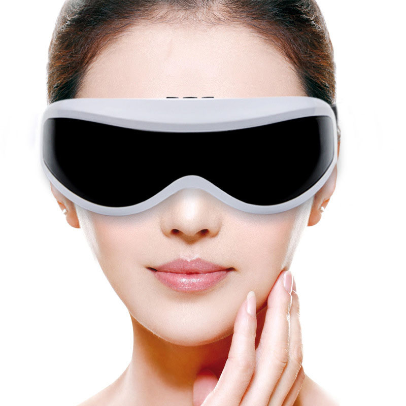 Electric Eye Massager glasses mask USB Vibration Alleviate Fatigue Stress Relief Relax Forehead vision massage Eye Care Tools abs electric eye care massager magnetic therapy vibration alleviate fatigue dark circles alleviate massage healthy care