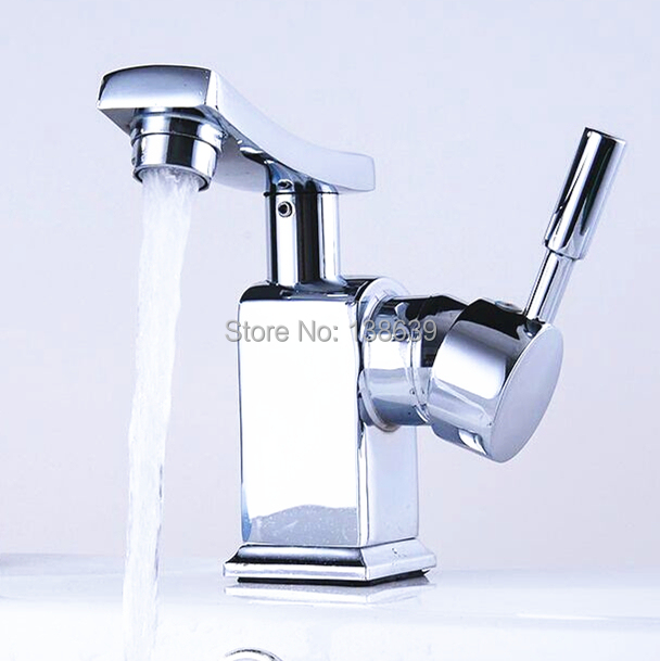 Free shipping Modern bathroom faucet,Brass chrome basin ...