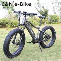 2018 Popular design 48v 1000W Bafang Ultra Mid Motor Snow Fat ebike Electric Mountain bike