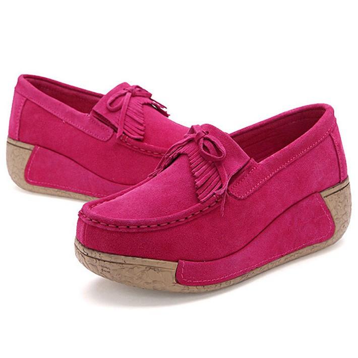 Woman-Flock-Flat-Thick-Bottom-Tassel-Bowtie-Slip-on-Mother-Nurse-Shoes-Spring-Autumn-Casual-Woman (1)