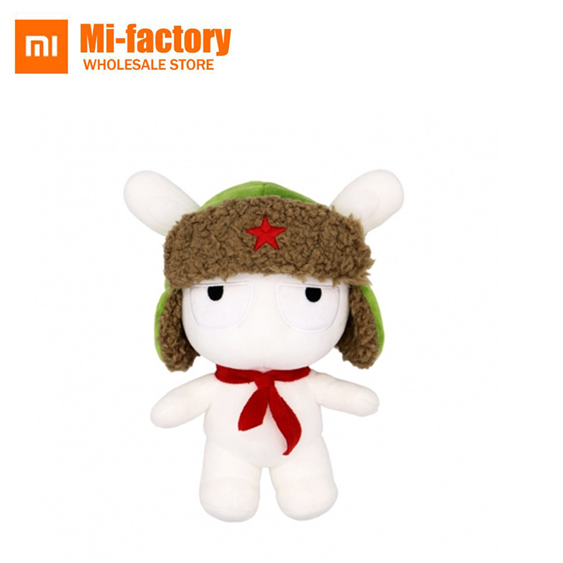 25CM Xiaomi Mitu Rabbit Stuffed Plush Animals Cartoon Kids Toys for Girls Boys Children Birthday Christmas Gift Xiaomi Doll