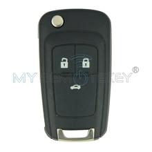 Flip remote key GM ID46 chip 3 button 433mhz for Buick Chevrolet AVEO CRUZE folding car key free shipping