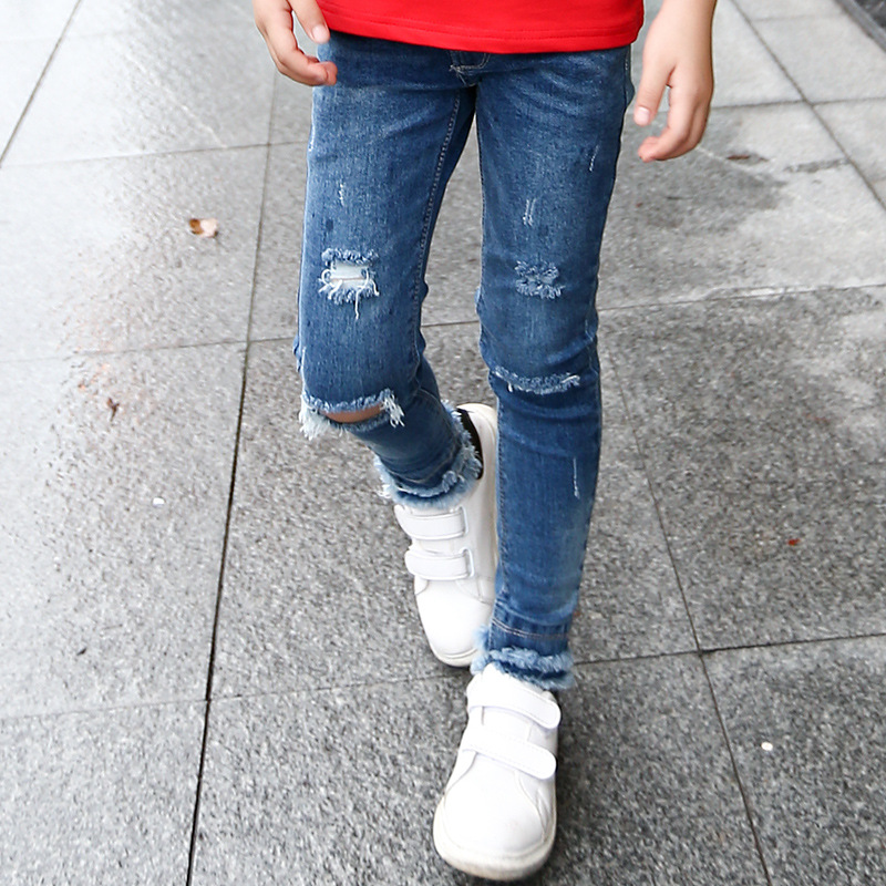 Online Get Cheap Ripped Jeans Big Kids -Aliexpress.com | Alibaba Group
