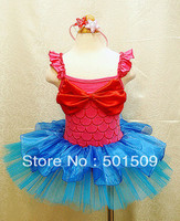 Mermaid Princess Sea Maid Costume Ballet Princess Dress Fairy Tale Dress For Party Festival Halloween Costume