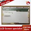 Envío Libre V.7 LTD121EWVB B121EW03 N121I3-L01-L03 ltn121w1 LTN121AT02 LTN121W1-L01 CLAA121WA01A 20PIN XJ Pantalla LCD Portátil