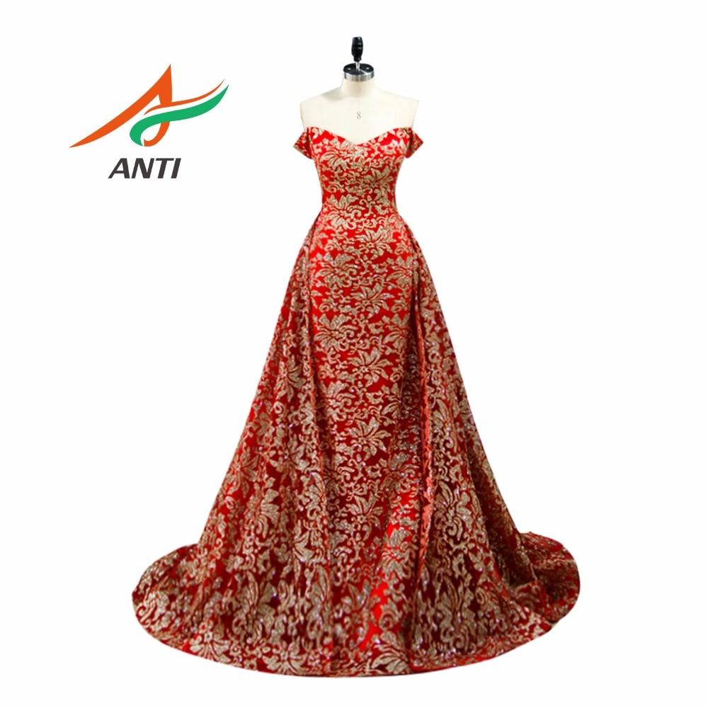 ANTI Elegant Prom Dresses 2017 Роскошний квітковий - Плаття для особливих випадків