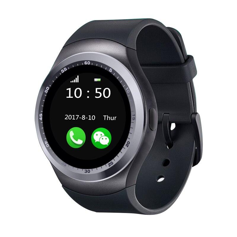 2018 neue Mode Luxus Y1 Smart Uhr Mit Whatsapp Und Facebook Twitter APP Smartwatch Für Android Smartwatch HTC Xiaomi