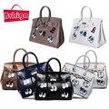 BVLRIGA Женщины посыльного сумки сумки женщины известные бренды большой размер сумки на ремне женщины кожаные сумки глаза Крокодила сумки